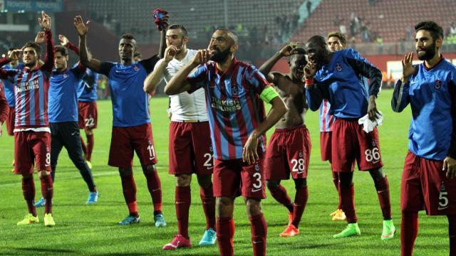 Trabzonspor yabancılarıyla devirdi