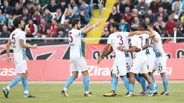 Trabzonspor'dan gol şov!