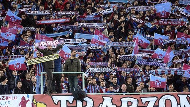Trabzonspor dolu tribünlere oynuyor