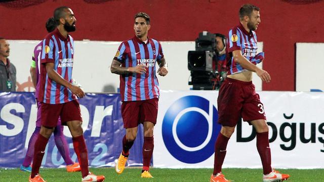 Trabzon tek golle yıkıldı