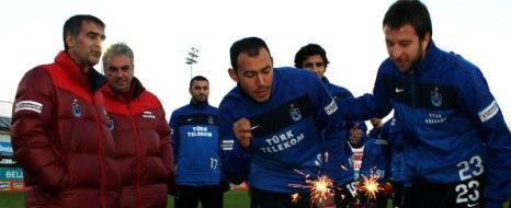 Trabzonspor'da Neşeli İdman