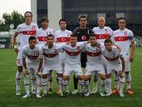 U19'lara Gürcistan'dan Çelme