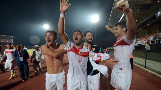Türkiye U21 zirveye uçtu