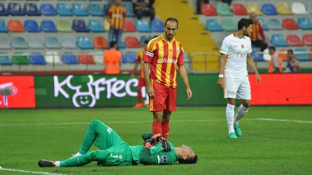 Galatasaray ilk çelmeyi yedi