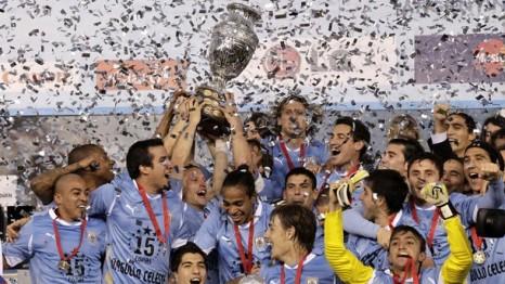 Uruguay Tarih Yazdı