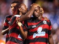 Adriano'suz Flamengo Kazandı