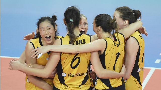 Şampiyonlar Ligi'nde ilk finalist Vakıfbank!