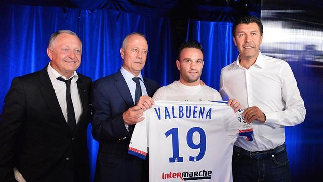 Valbuena, Olympique Lyon'da