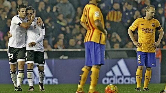 Barça, Valencia'da 2 puan bıraktı