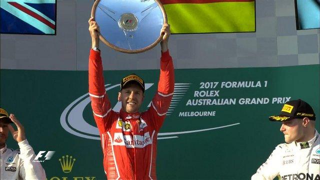 Ferrari, 2017'ye hızlı başladı