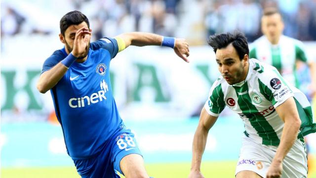 Konyaspor'dan hayati galibiyet