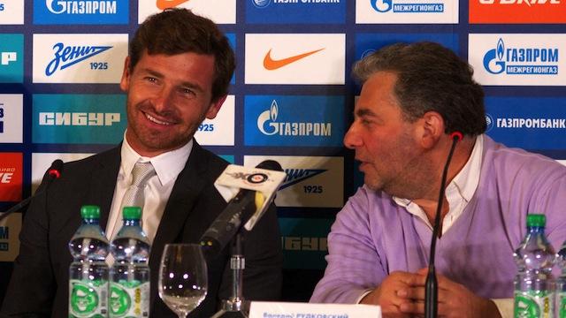 Zenit Villas Boas'ı tanıttı