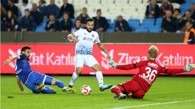 Trabzonspor güle oynaya üst turda