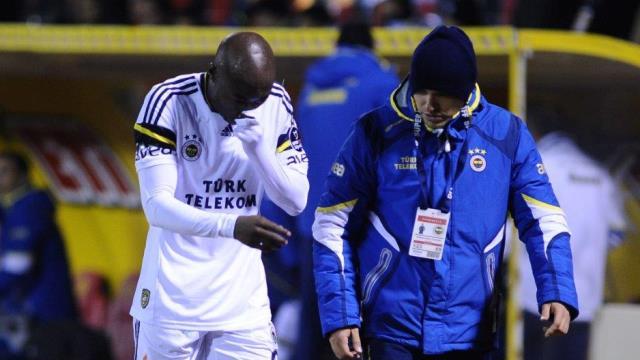 Fenerbahçe'de Webo korkuttu