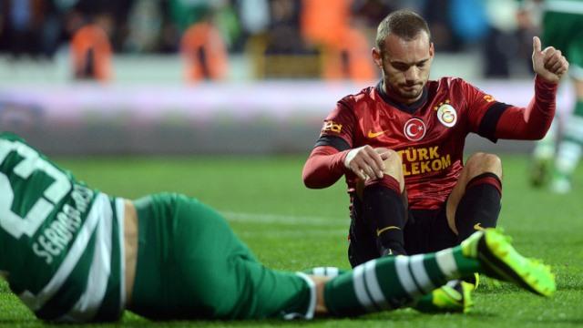 Sneijder'den İyi Haber Var
