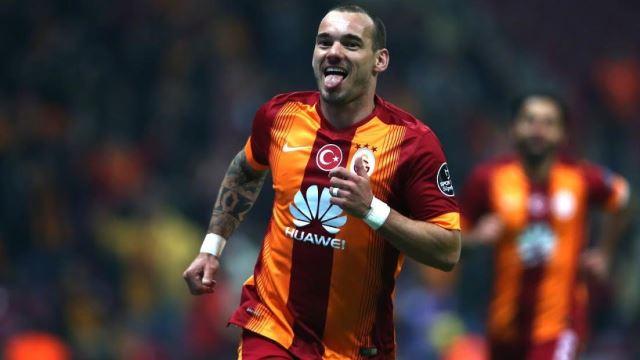 Sneijder çok uğurlu