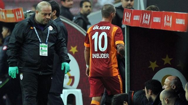 Sneijder doğrudan soyunma odasına