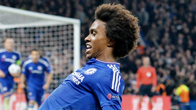 Chelsea'yi Willian kurtardı