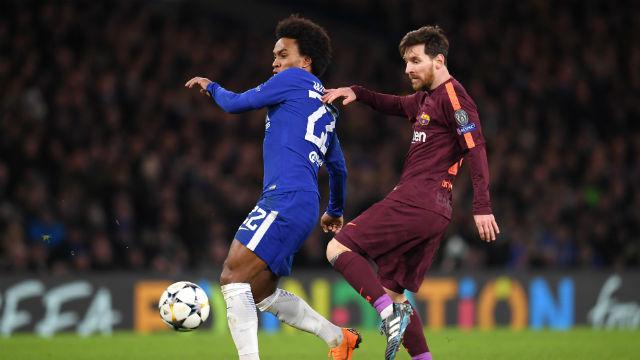 Messi siftahı yaptı, Barça avantajı kaptı