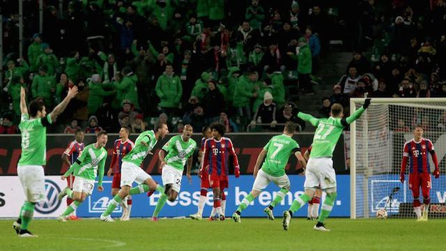 Wolfsburg Bayern'i dağıttı