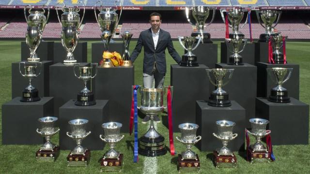 Kupa koleksiyoncusu: Xavi