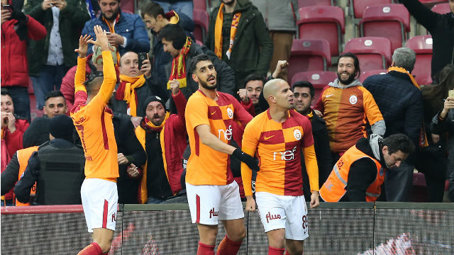 Galatasaray haftayı kayıpsız kapattı
