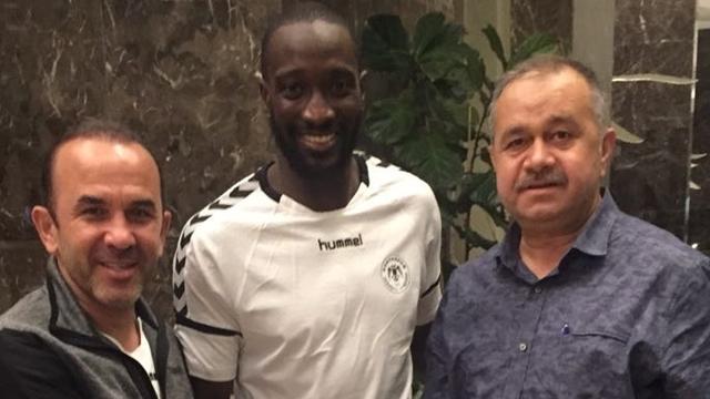 Yatabare Atiker Konyaspor'da