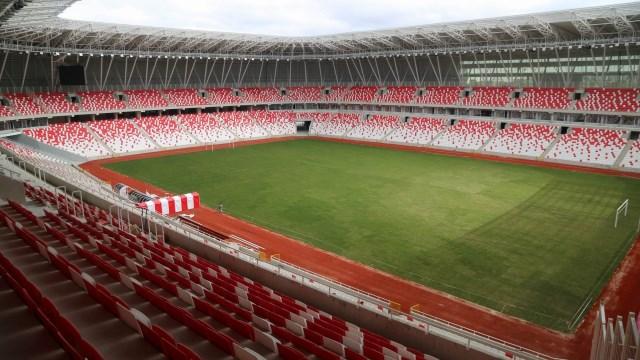 Türkiye'nin ilk ekolojik stadı bitiyor