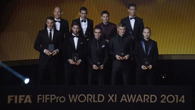 FIFA adayları açıkladı