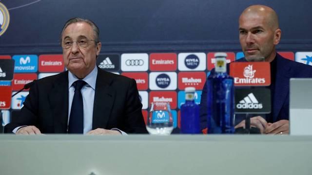 Zidane'dan şok istifa!