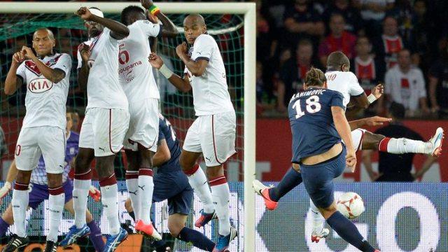 Zlatan Attı, PSG Siftah Yaptı